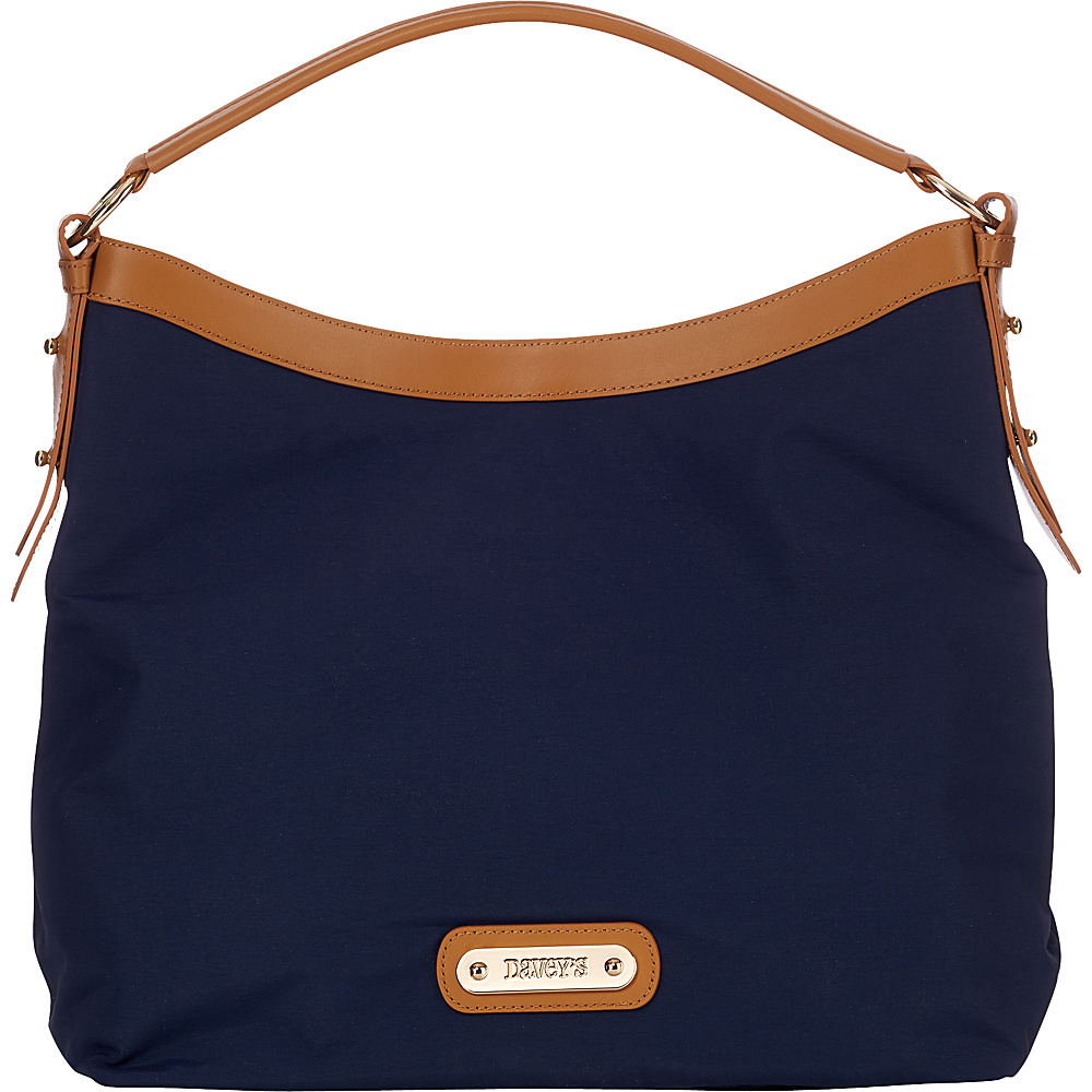 Davey s Hobo Navy Davey s Fabric Handbags