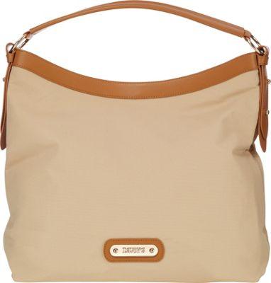 Davey's Hobo Khaki - Davey's Fabric Handbags