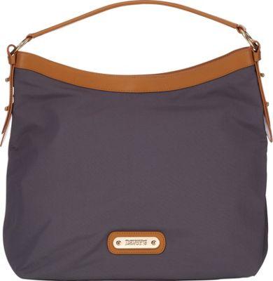 Davey's Hobo Grey - Davey's Fabric Handbags