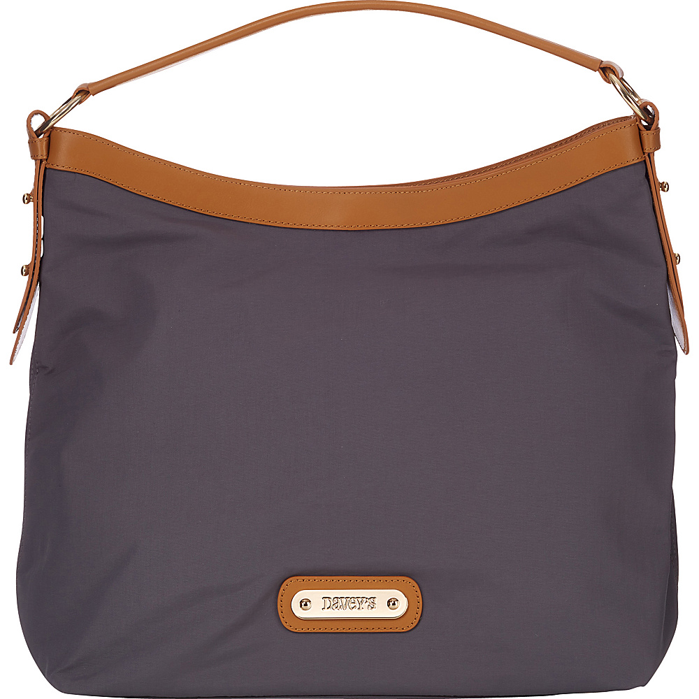 Davey s Hobo Grey Davey s Fabric Handbags