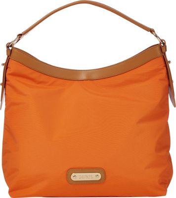 Davey's Hobo Burnt Orange - Davey's Fabric Handbags