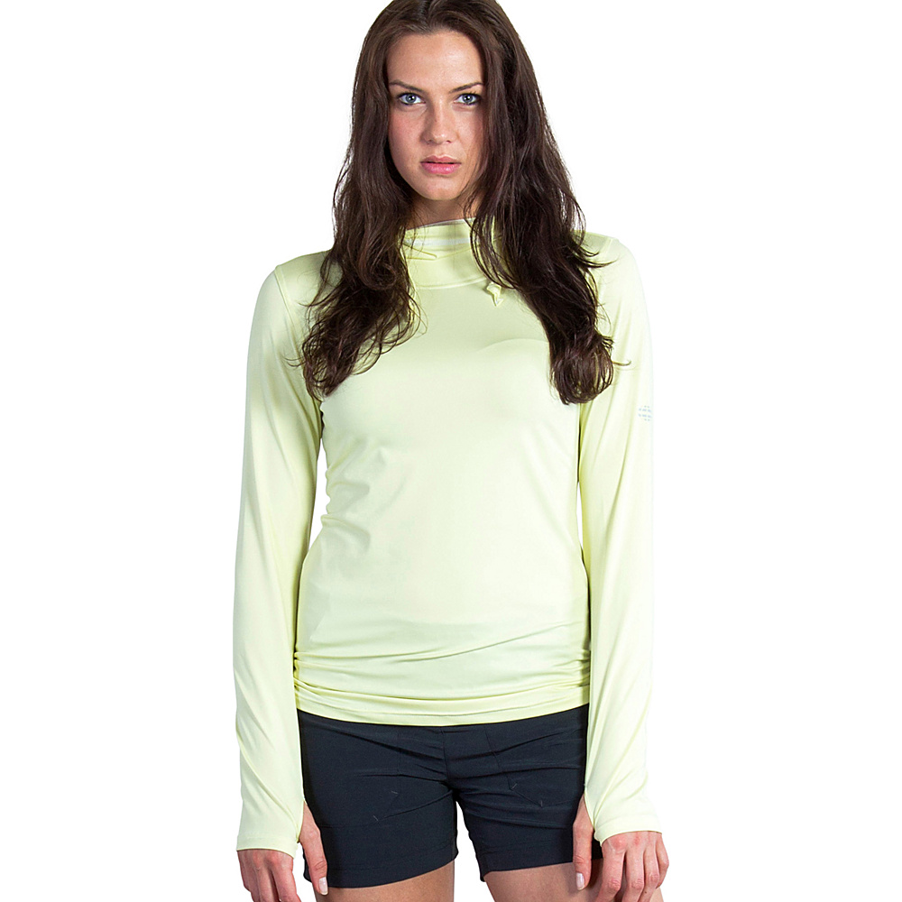 ExOfficio Womens Sol Cool Ultimate Hoody XL - Pear - ExOfficio Womens Apparel - Apparel & Footwear, Women's Apparel