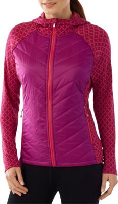 Smartwool Womens Double Propulsion 60 Hoody XS - Berry - Smartwool Women's Apparel