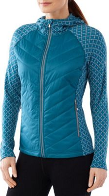 Smartwool Womens Double Propulsion 60 Hoody XS - Glacial Blue - Smartwool Women's Apparel