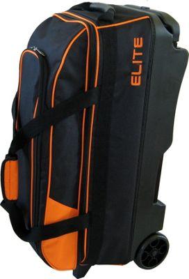 Elite Bowling Basic Triple Roller Orange/Black - Elite Bowling Bowling Bags