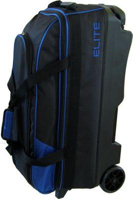 Elite Bowling Basic Triple Roller Black/Blue - Elite Bowling Bowling Bags