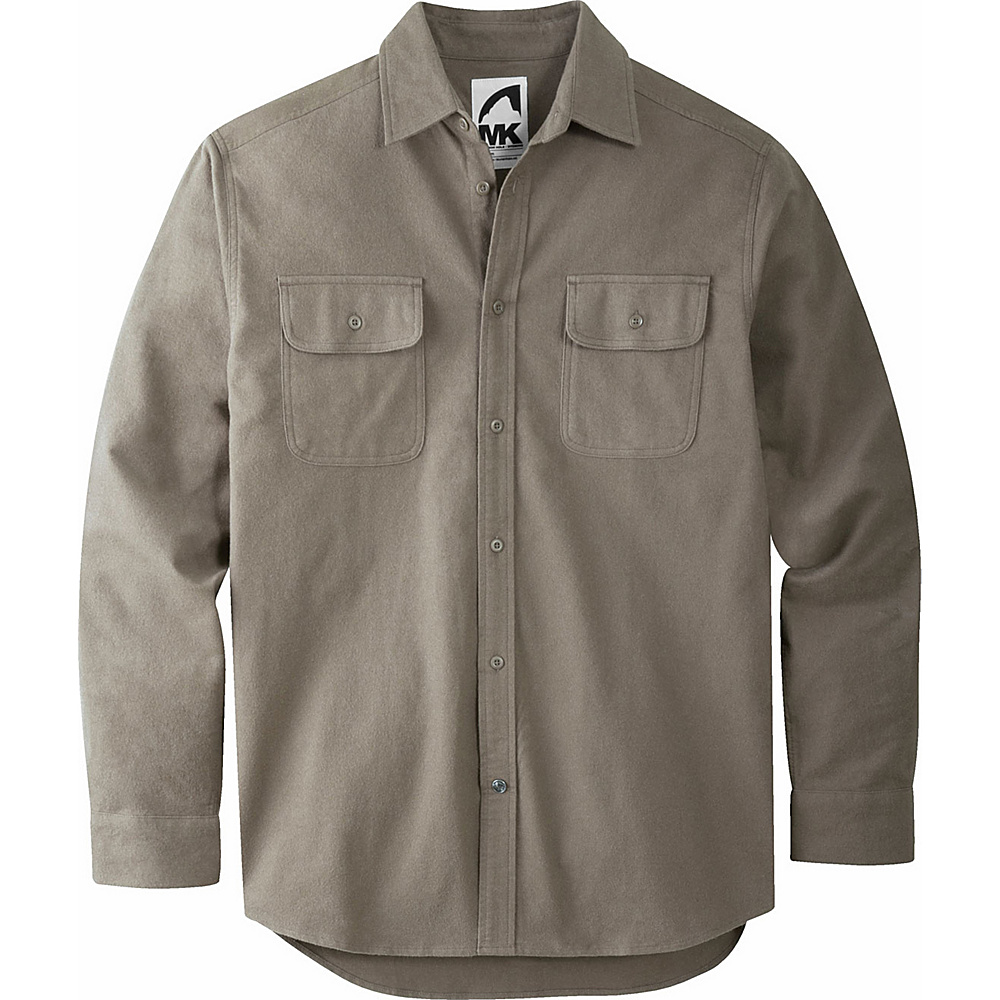 Mountain Khakis Ranger Chamois Shirt L - Dark Olive - Mountain Khakis Mens Apparel - Apparel & Footwear, Men's Apparel