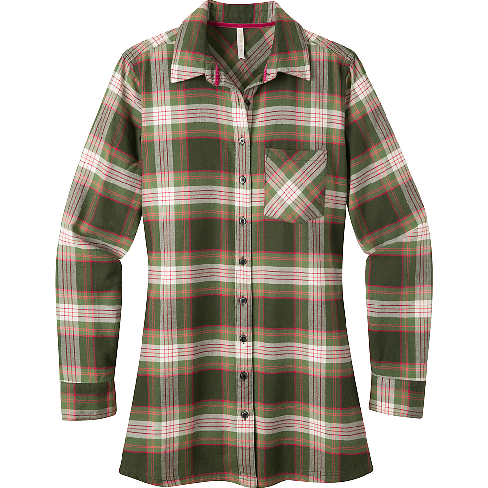 Mountain Khakis Penny Plaid Tunic Shirt XS - Rainforest - Mountain Khakis Womens Apparel - Apparel & Footwear, Women's Apparel