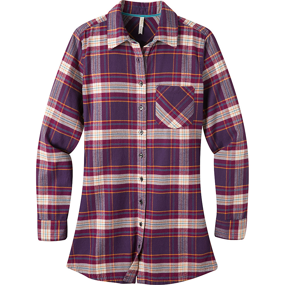 Mountain Khakis Penny Plaid Tunic Shirt XS - Huckleberry - Mountain Khakis Womens Apparel - Apparel & Footwear, Women's Apparel