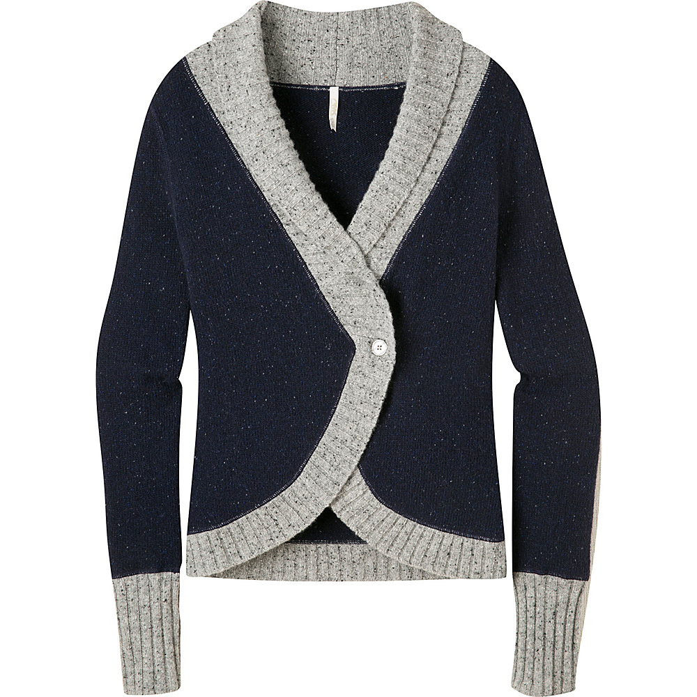 Mountain Khakis Fleck Shawl Cardigan Sweater M - Navy - Mountain Khakis Womens Apparel - Apparel & Footwear, Women's Apparel
