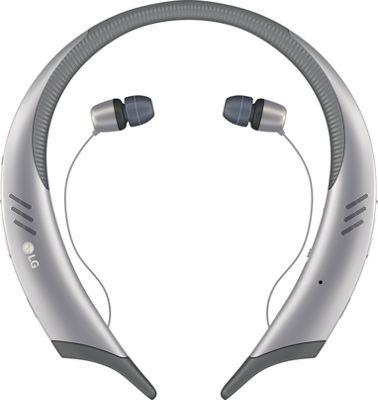 LG Tone Active + Wireless Stereo Headset Silver - LG Headphones & Speakers
