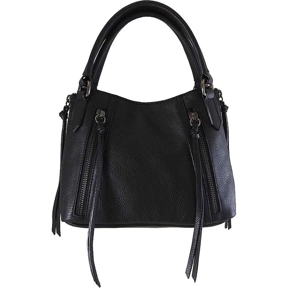 Joelle Hawkens by treesje Dayna Mini Satchel Black Joelle Hawkens by treesje Designer Handbags