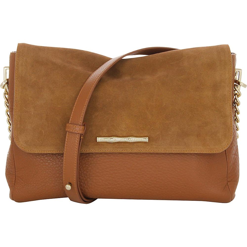 Elaine Turner Naimie Shoulder Bag Camel Elaine Turner Designer Handbags