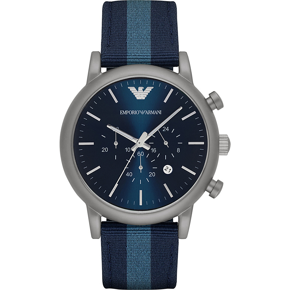 Emporio Armani Dress Watch Blue Emporio Armani Watches