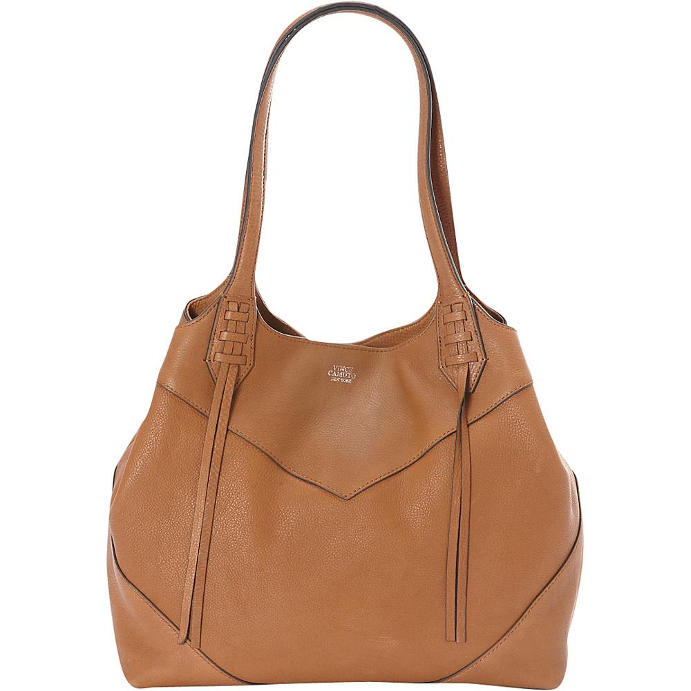 Vince Camuto Fargo Tote Caramel Vince Camuto Designer Handbags