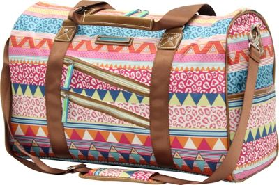 Lily Bloom On The Prowl Satchel Forest Owls - Lily Bloom Luggage Totes and Satchels