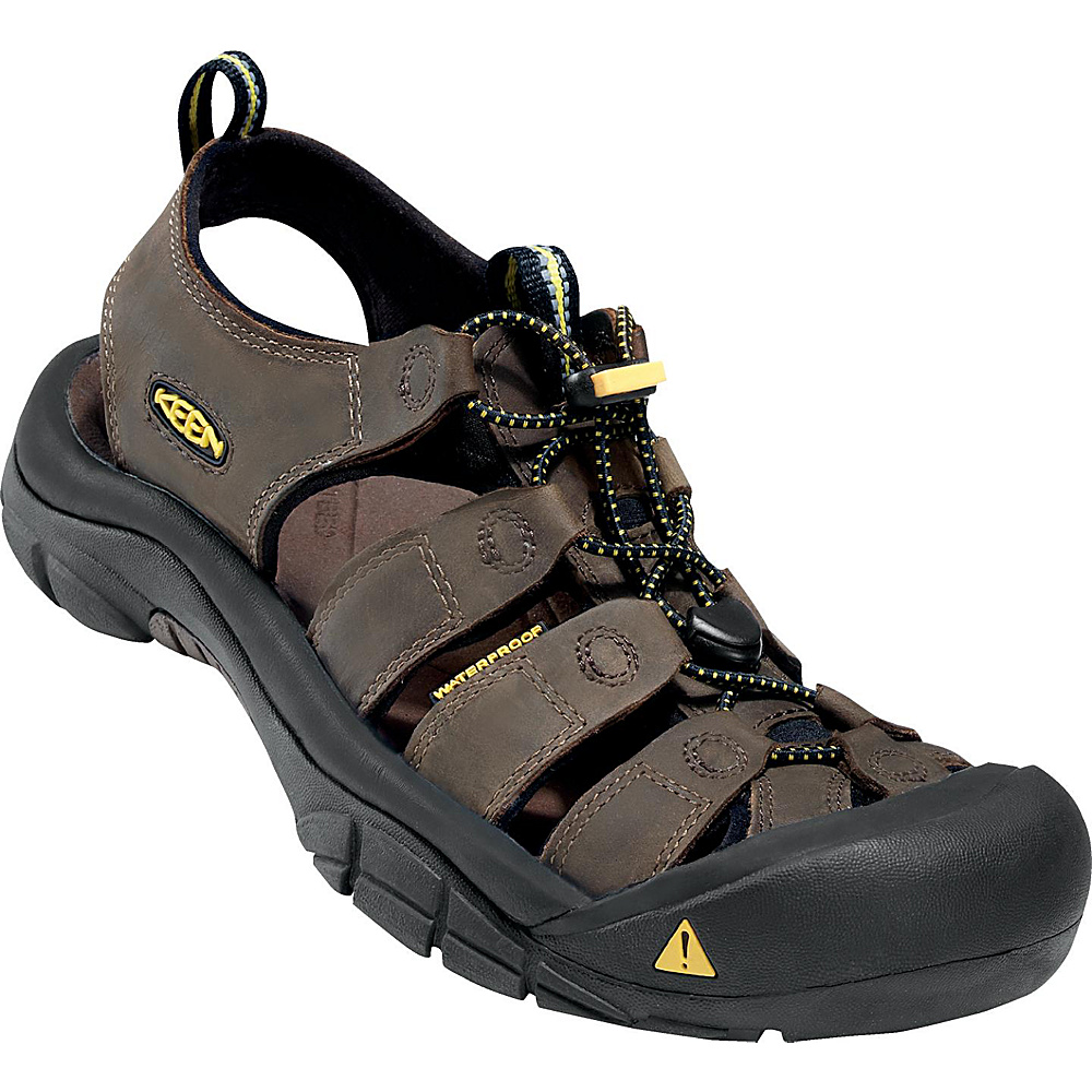 KEEN Mens Newport Sandal 7.5 - Bison - KEEN Mens Footwear - Apparel & Footwear, Men's Footwear