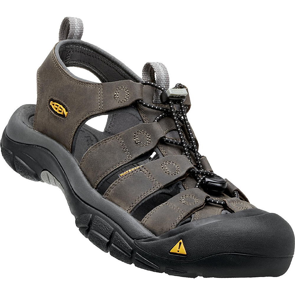 KEEN Mens Newport Sandal 10 - Neutral Grey / Gargoyle - KEEN Mens Footwear - Apparel & Footwear, Men's Footwear