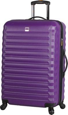 LUCAS Treadlite 24 inch Spinner Purple - LUCAS Softside Checked