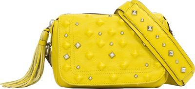 Sanctuary Handbags Rockstars Camera Crossbody Bag Acid Gold - Sanctuary Handbags Designer Handbags