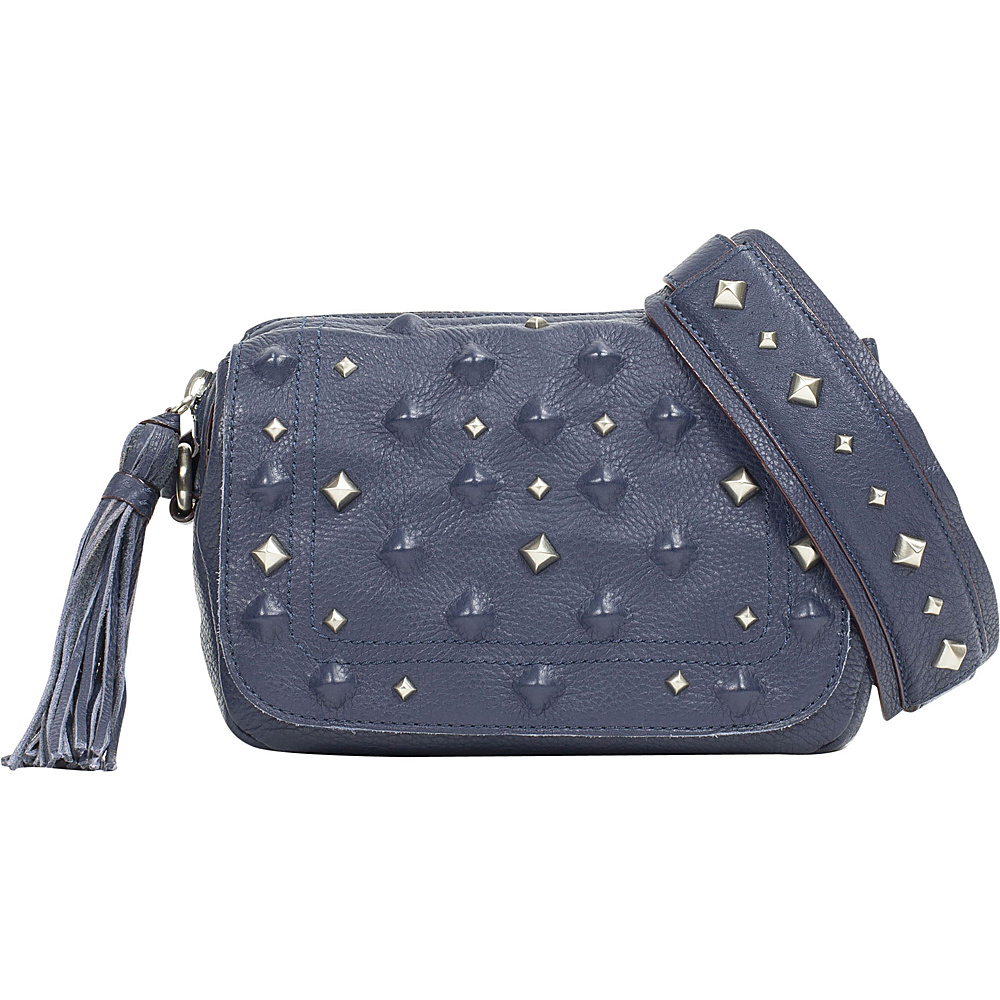 Sanctuary Handbags Rockstars Camera Crossbody Bag Magnetic Blue Sanctuary Handbags Designer Handbags