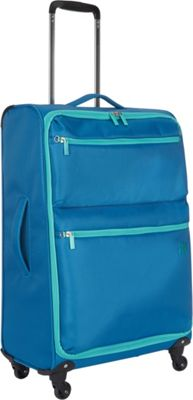 Revelation Weightless 26 inch Spinner Light Blue - Revelation Softside Checked