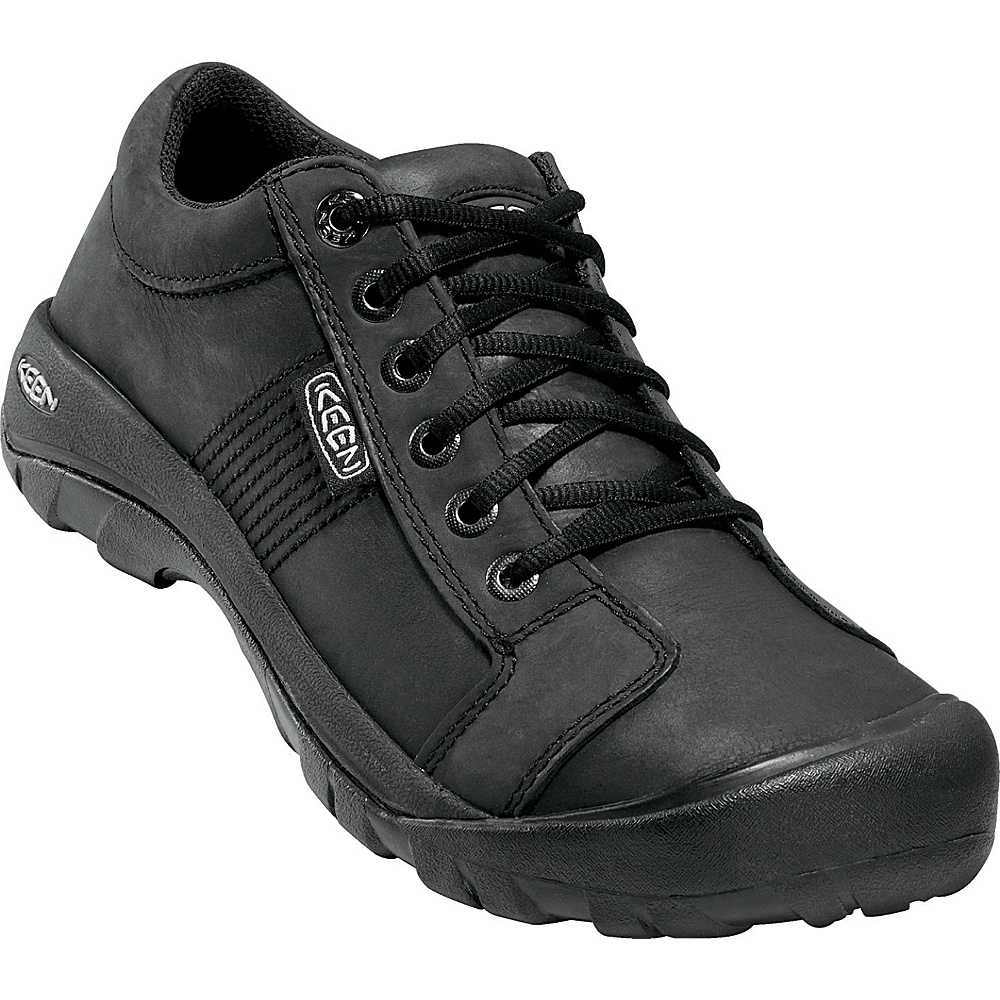 KEEN Mens Austin Shoe 16 - Black - KEEN Mens Footwear - Apparel & Footwear, Men's Footwear