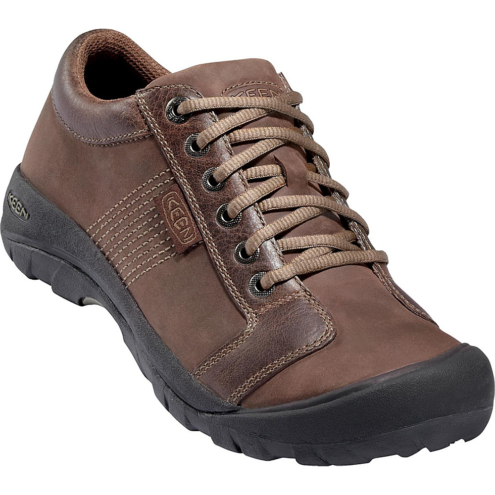 KEEN Mens Austin Shoe 10.5 - Chocolate Brown - KEEN Mens Footwear - Apparel & Footwear, Men's Footwear