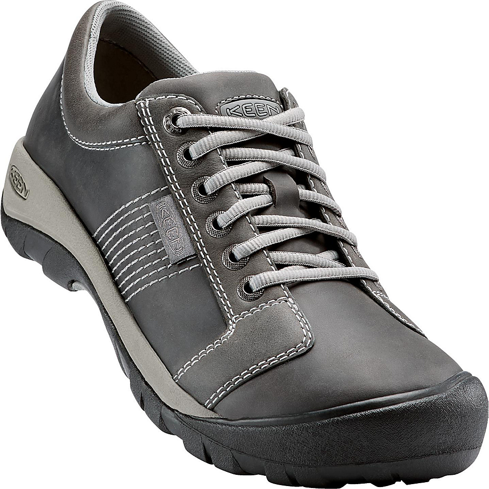 KEEN Mens Austin Shoe 8 - Gargoyle / Neutral Grey - KEEN Mens Footwear - Apparel & Footwear, Men's Footwear