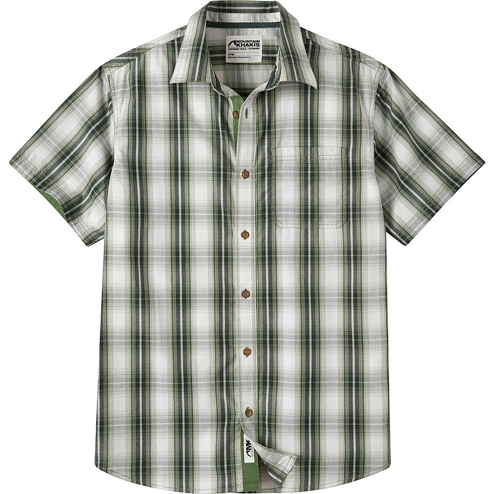Mountain Khakis Cottonwood Short Sleeve Shirt 2XL - Scout Multi - Mountain Khakis Mens Apparel - Apparel & Footwear, Men's Apparel