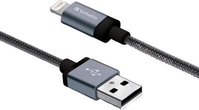 Verbatim 47 inch Braided Sync & Charge Lightning Cable