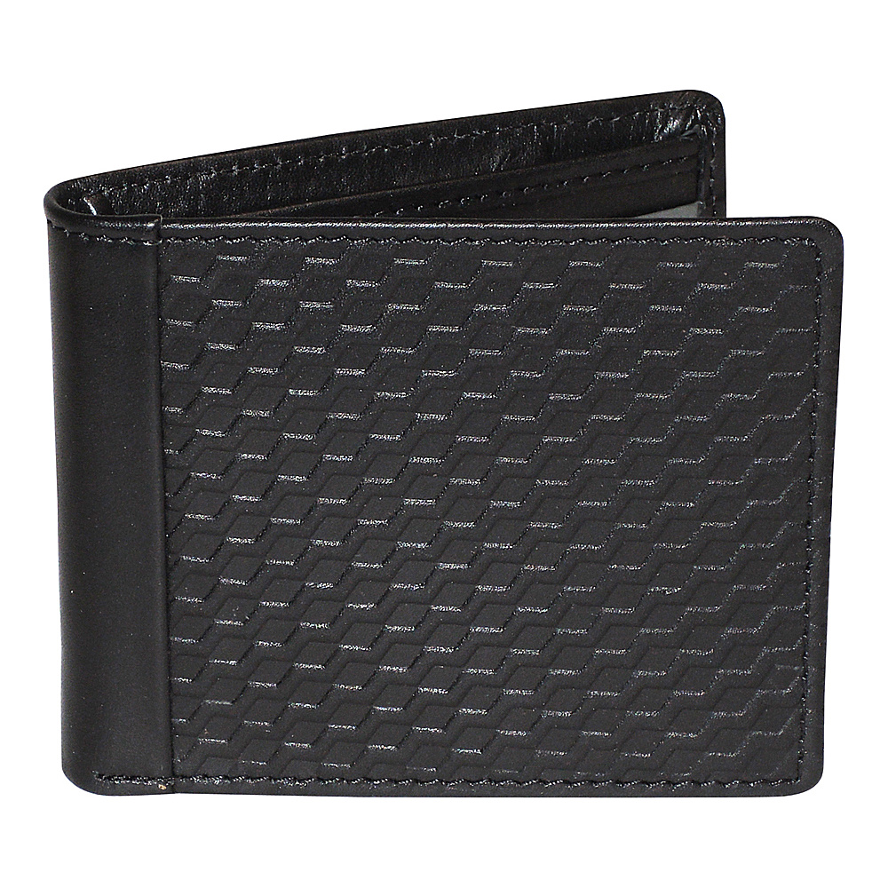 Buxton Bellamy RFID Front Pocket Slimfold Black - Buxton Mens Wallets - Work Bags & Briefcases, Men's Wallets