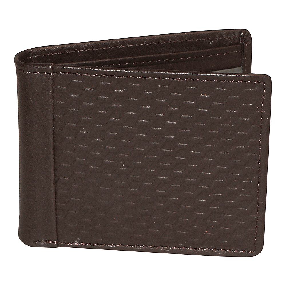 Buxton Bellamy RFID Front Pocket Slimfold Brown - Buxton Mens Wallets - Work Bags & Briefcases, Men's Wallets