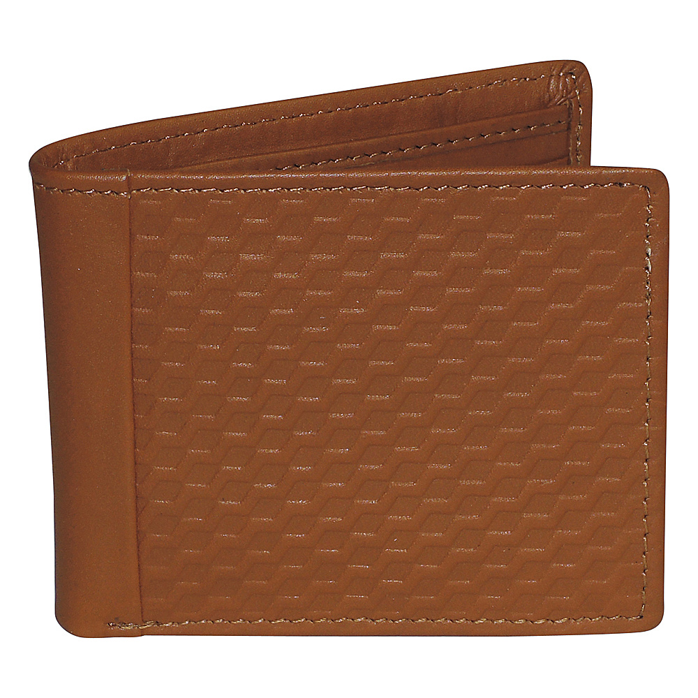 Buxton Bellamy RFID Front Pocket Slimfold Tan - Buxton Mens Wallets - Work Bags & Briefcases, Men's Wallets