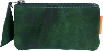 Old Trend Joe Clutch Green - Old Trend Leather Handbags