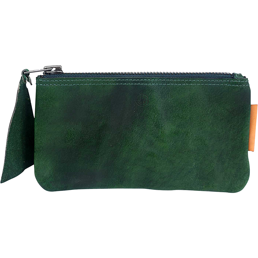 Old Trend Joe Clutch Green Old Trend Leather Handbags
