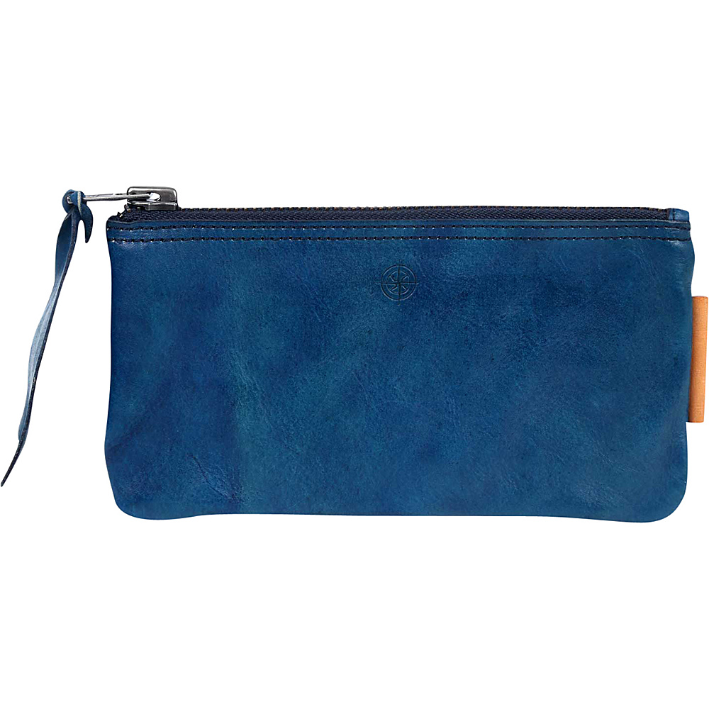 Old Trend Joe Clutch Navy Old Trend Leather Handbags