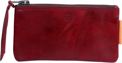 Old Trend Old Trend Joe Clutch Red - Old Trend Leather Handbags