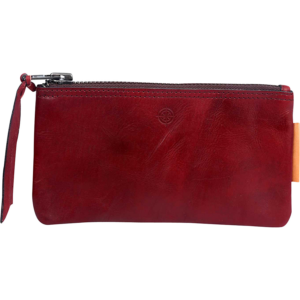 Old Trend Joe Clutch Red Old Trend Leather Handbags