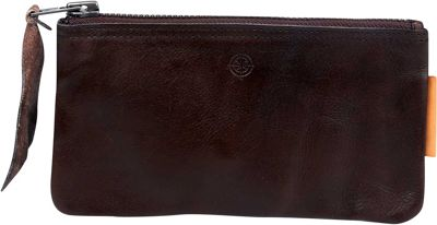 Old Trend Joe Clutch Brown - Old Trend Leather Handbags