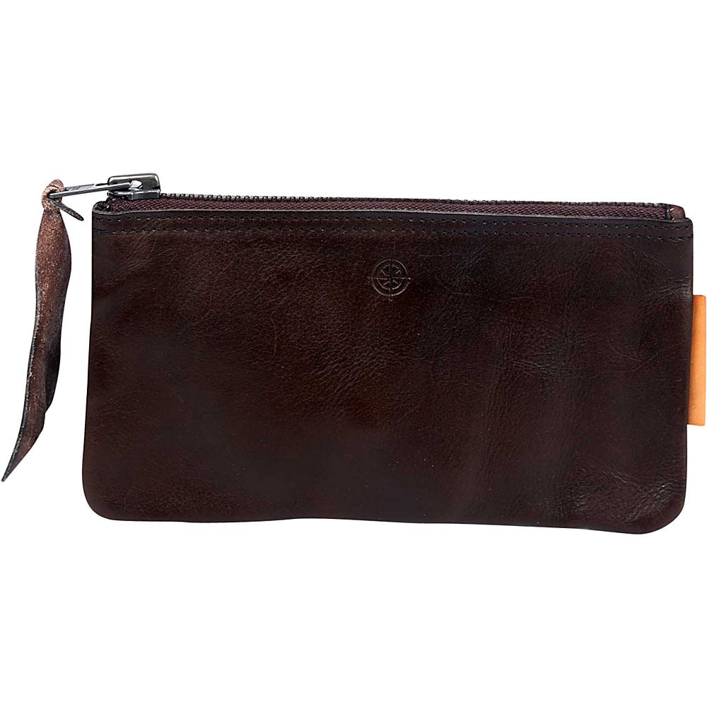 Old Trend Joe Clutch Brown Old Trend Leather Handbags
