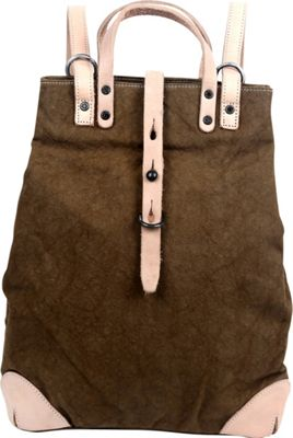 TSD Woodhill Backpack Army Green - TSD Fabric Handbags