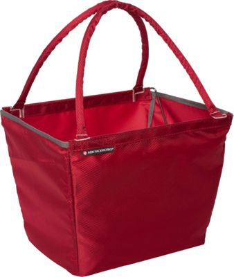 ADK Packworks Market Basket - Solids Red - ADK Packworks All-Purpose Totes