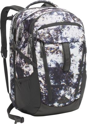 The North Face Women's Surge Laptop Backpack- Discontinued Colors Diamond Life Print/Asphalt Grey - The North Face Business & Laptop Backpacks