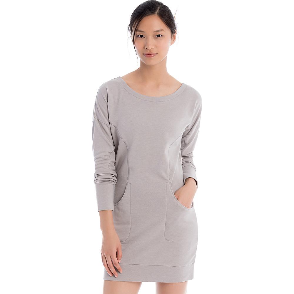Lole Sika Dress XS - Warm Grey Heather - Lole Womens Apparel - Apparel & Footwear, Women's Apparel