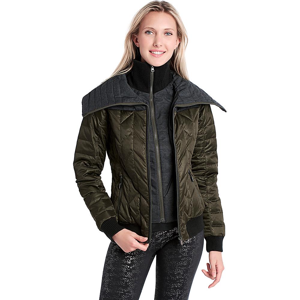 Lole Colleen Jacket XS - Forest Heather - Lole Womens Apparel - Apparel & Footwear, Women's Apparel