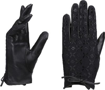 MoDa Ms. Budapest Winter Driving Gloves M - Black 2XL - MoDa Hats/Gloves/Scarves
