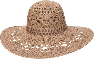 Ale by Alessandra Floresta Floppy Hat One Size - Toast - Ale by Alessandra Hats/Gloves/Scarves