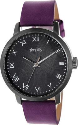 Simplify The 4200 Unisex Watch Plum - Simplify Watches