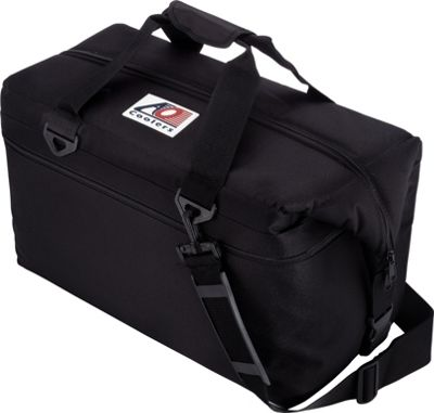 AO Coolers 36 Pack Canvas Soft Cooler Black - AO Coolers Outdoor Coolers
